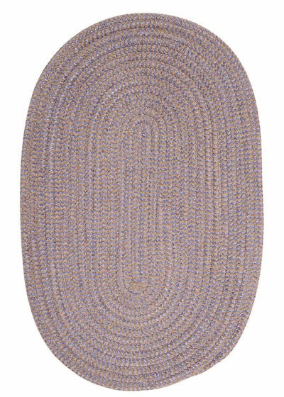 Softex Check CX12 Amethyst Check Braided Rug by Colonial Mills