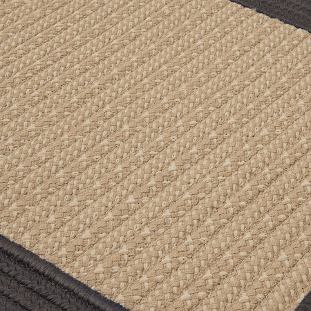 Bayswater BY43 Gray Braided Rug by Colonial Mills - Select Area Rugs