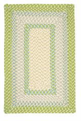 Montego MG69 Lime Green Braided Rug by Colonial Mills