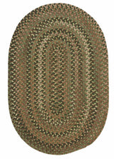 Oak Harbour OH68 Cabana Braided Wool Rug by Colonial Mills