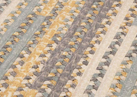 Print Party - Rects PY39 Shaded Yellow Transitional Rug by Colonial Mills - Select Area Rugs
