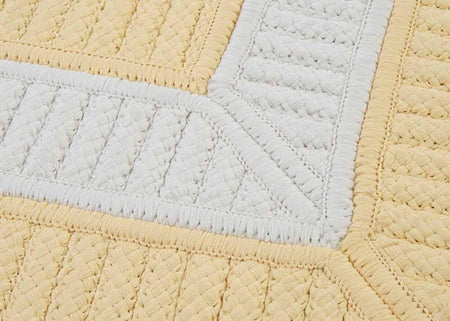 Rope Walk CB90 Yellow Braided Rug by Colonial Mills - Select Area Rugs