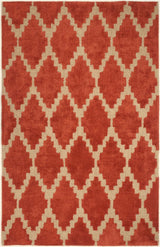 Tajine AMB0682 Rust, Orange, Beige, Natural  Modern Rug