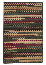 Market Mix Rect. MM01 Winter Braided Rug by Colonial Mills