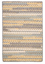 Print Party - Rects PY39 Shaded Yellow Transitional Rug by Colonial Mills