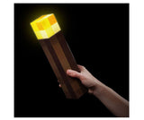 Minecraft Torch Light & Wall Light | Official Life Size Collectible