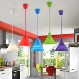 Silicone Pendant Ceiling Rose Light | Beautiful Selection of Candy Colors