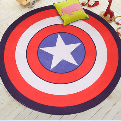Marvel's Captain America Shield Area Rug | Free Shipping & Satisfaction Guarantee