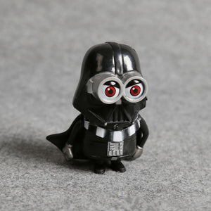 Minion action figures minion cosplay star wars darth vader maul stormtroop