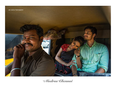 From Madras To Chennai - A Couple Shoot in Namma Chennai