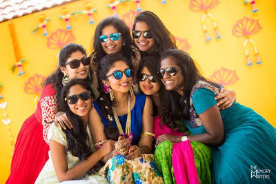 A Colourful & Fun Coimbatore Wedding That's Full Of Romance