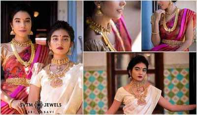 The Choicest of Handcrafted Temple Jewellery Marvels!