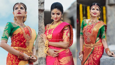 A Shoot That Captured The Elegance And Grandeur Of Kanjeevaram Classics