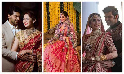 The Fairytale Wedding of Arya and Sayyeshaa!
