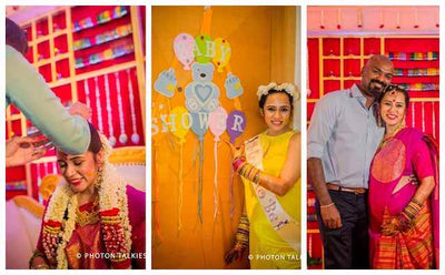 The Stunning Baby shower of Prem + Videha!