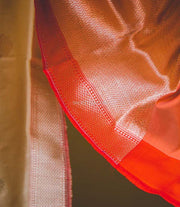 Brown Katan Silk Dupatta