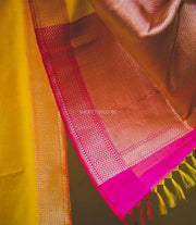 Yellow Katan Silk Dupatta