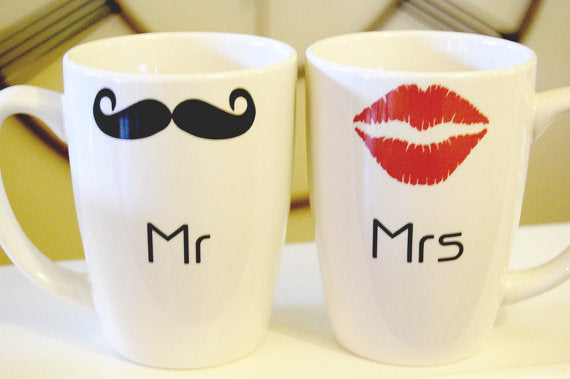 Cups to share your morning coffee together.