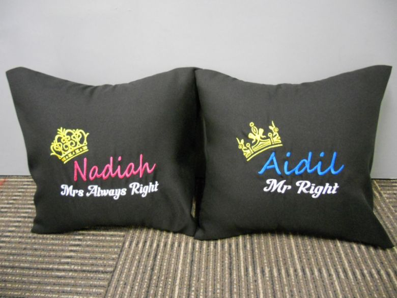Cute cushions that'll decorate your couch.