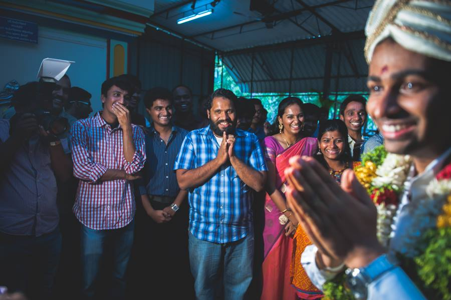 Emotions at a south indian