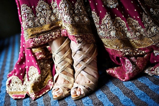 gold-indian-wedding-shoes-christian-louboutins