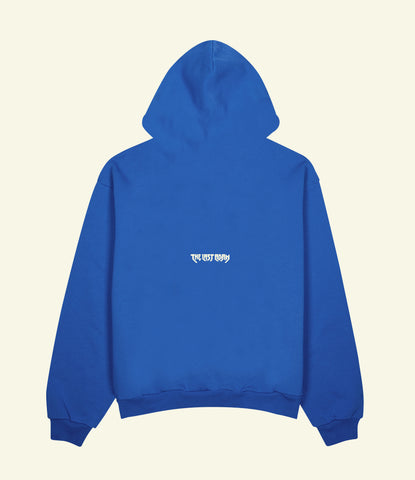 DEFEND THE OPPRESSED HOODIE (ROYAL BLUE)