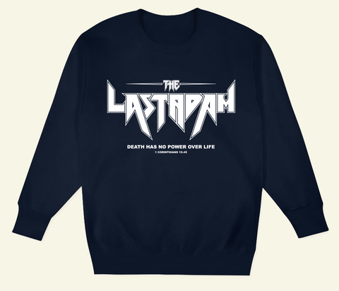 The Last Adam University Crewneck (Navy Blue)