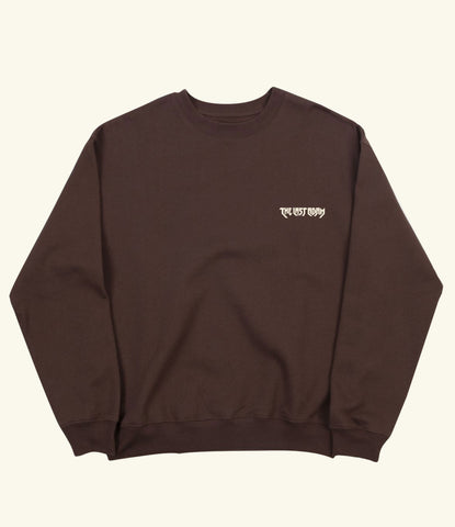 Chocolate Logo Sweatshirt