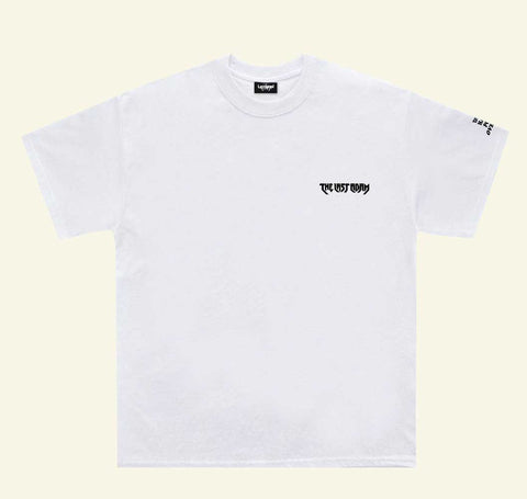 Embroidered Logo Tee 'White'