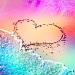 Rainbow Beach Love - Dreamer Diamond Paint Kit