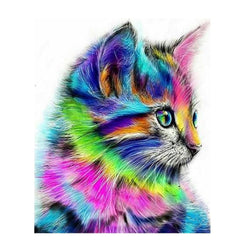 Rainbow Cat - Dreamer Diamond Paint Kit
