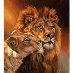 Lion Family - Dreamer Diamond Paint Kit