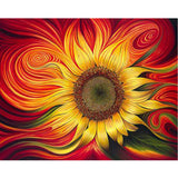 Trippy Sunflower - Dreamer Diamond Paint Kit