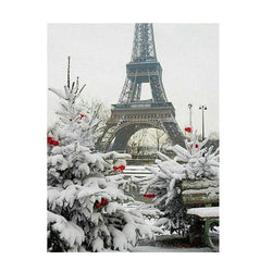 Winter Paris - Dreamer Diamond Paint Kit