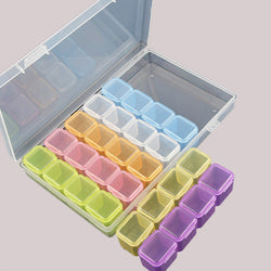 28 Slot Coloured Storage Box