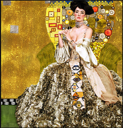 Glamour - Dreamer Diamond Paint Kit (Gustav Klimt Edition)