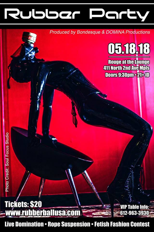 Rubber Party 05.18.18