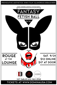 Kinky Desires Monthly Fetish Party: Fantasy Fetish Ball