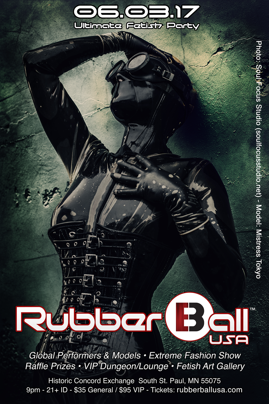 Rubber Ball USA 06.03.17