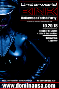 Underworld Kink 2018: Halloween Fetish Party 10.20.18
