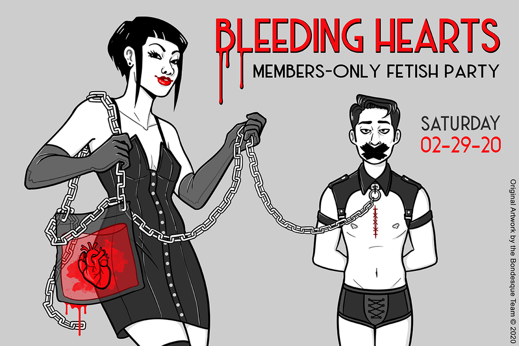 Bleeding Hearts Annual Members-Only Party 02.29.20