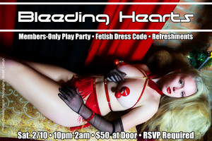 Bleeding Hearts Annual Members-Only Party 02.10.18