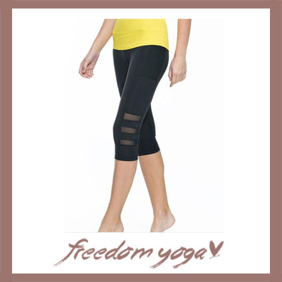 Legging Yoga and Fitness pants - Black pattern