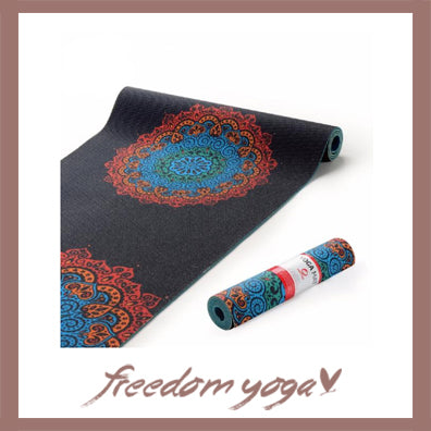 Yoga mat design - Mandala Environmental Tasteless pattern