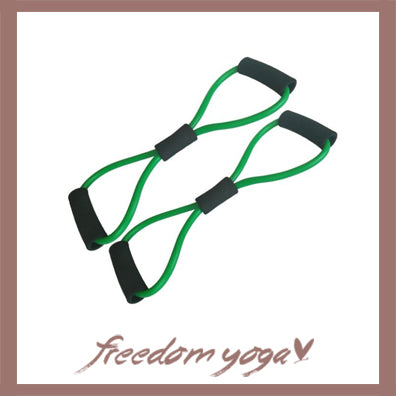 Shaped Resistance for Yoga and fitness exercises - 2 pieces