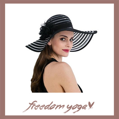 Fashion Yoga hat - Striped pattern - 5 colors available