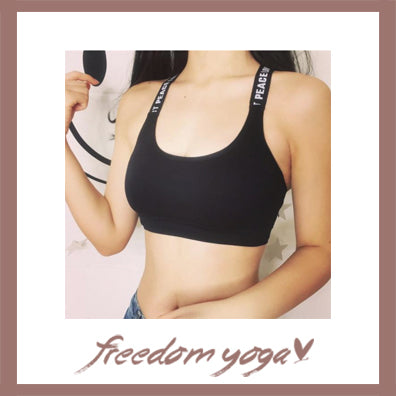 Yoga Tank Top - Seamless Yoga top - Black color
