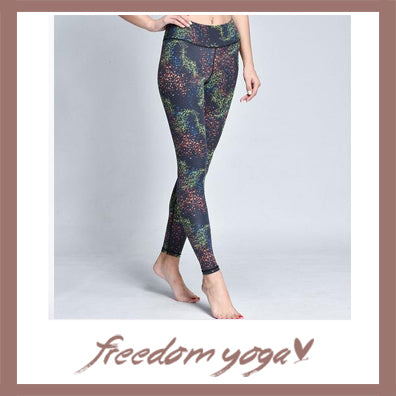 Sport Yoga pants - Galaxy pattern