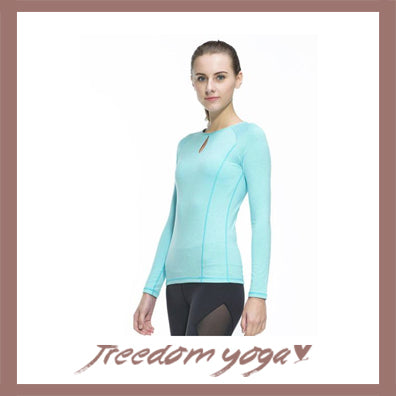 Fitness Yoga long sleeve t shirt for Yoga Lovers
