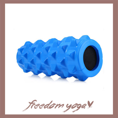 Yoga Blocks and Bricks Roller for Yoga Lovers - Blue pattern
